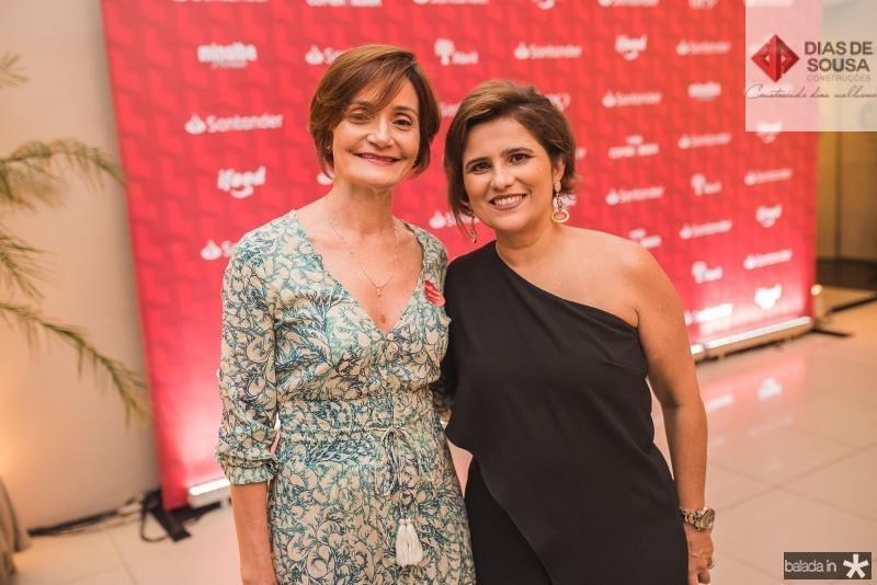 Louise Benevides e Micheline Albuquerque