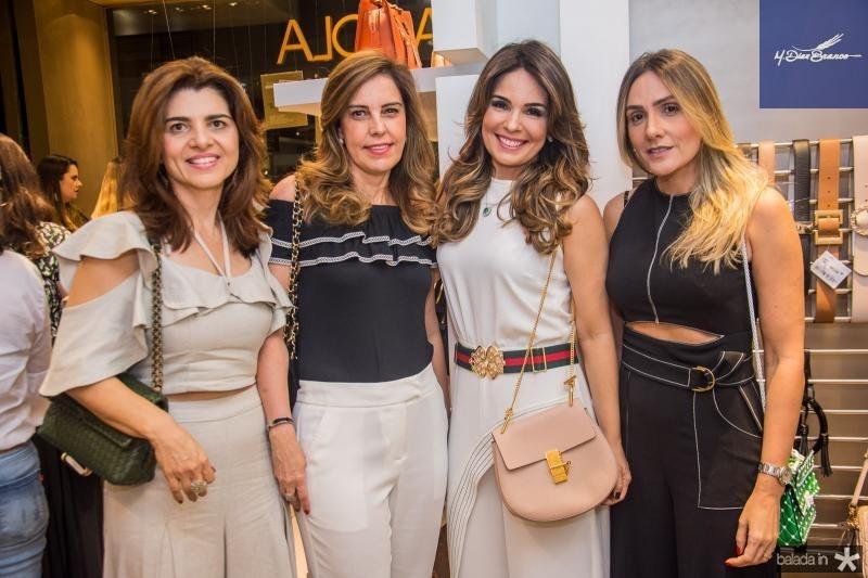 Rilka Bezerra, Rosale Diogo, Eveline Fujita e Renata Ciriaco