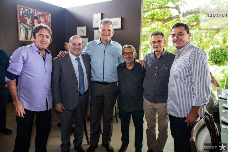 Adair Junior, Roberto Claudio, Andre Figueiredo, Davi Tolera, Francisco Soares e Rubinho