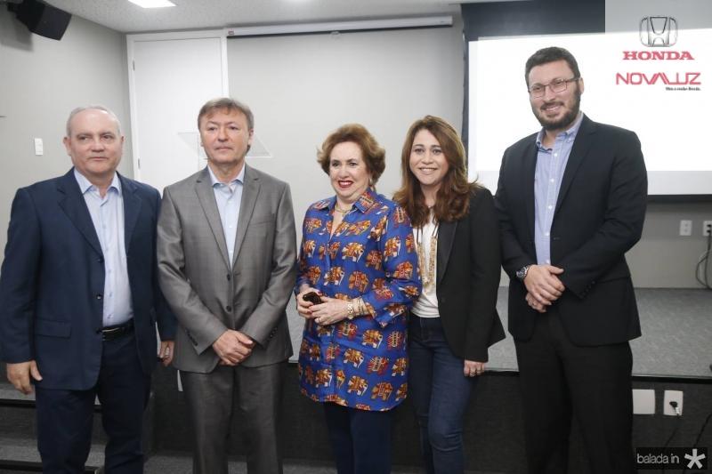 Savio Carvalho, Mauricio Filizola, Leda Maria, Raquel Barros e Rodrigo Leite