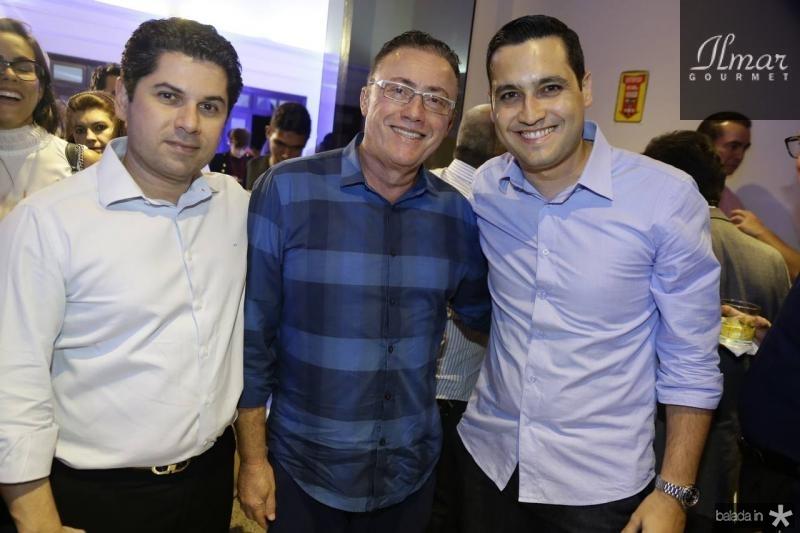 Pompeu Vasconcelos, Darlan Leite e Luiz Sobreira