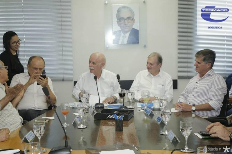 Honorio Pinheiro, Freitas Cordeiro, Tasso Jereissati e Guilherme Theophilo