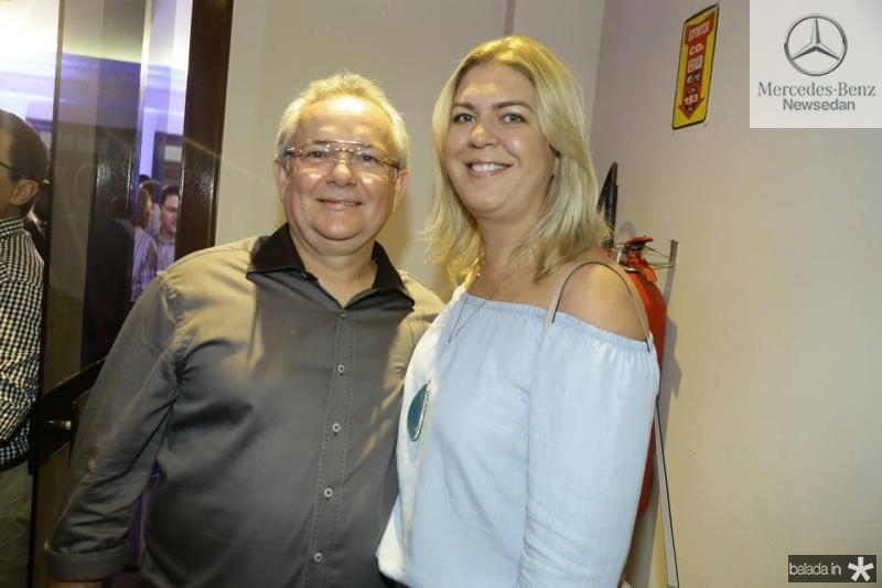 Paulo Coelho e Andrea Freire