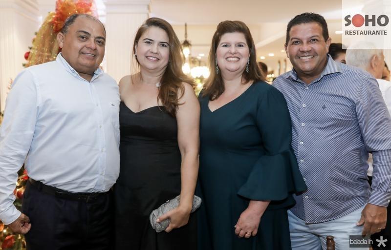 Teodoro e Maisa Santos, Patricia e Raimundo Silva