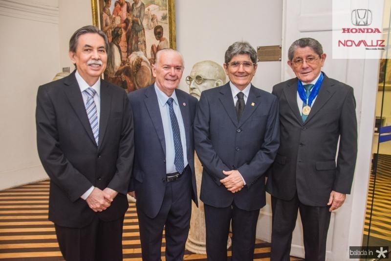 Osvaldo Gutierrez, Seridiao Montenegro, Jose Augusto Bezerra e Batista de Lima