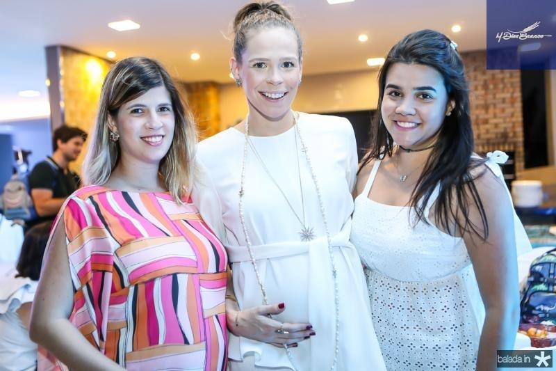 Daiane Frota, Natalia Pontes e Priscila Leal