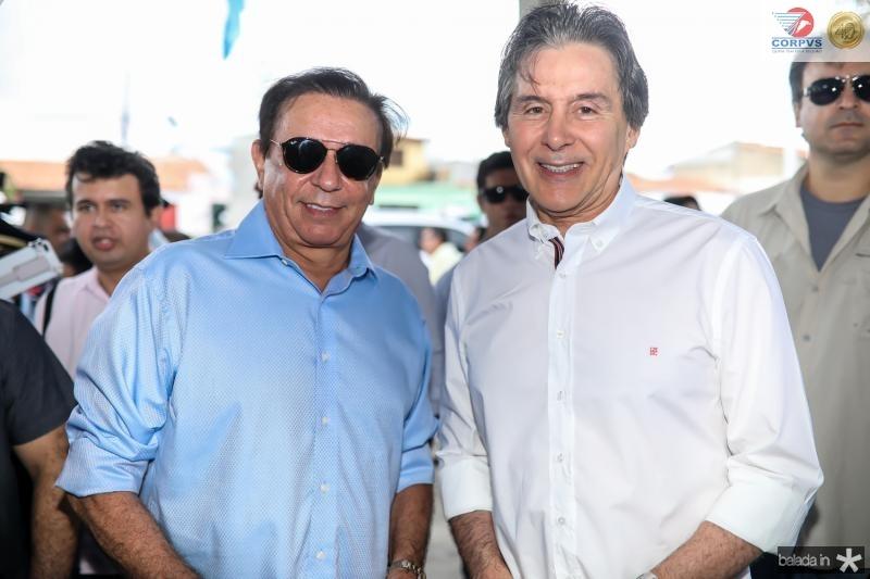 Gaudencio Lucena e Eunicio Oliveira