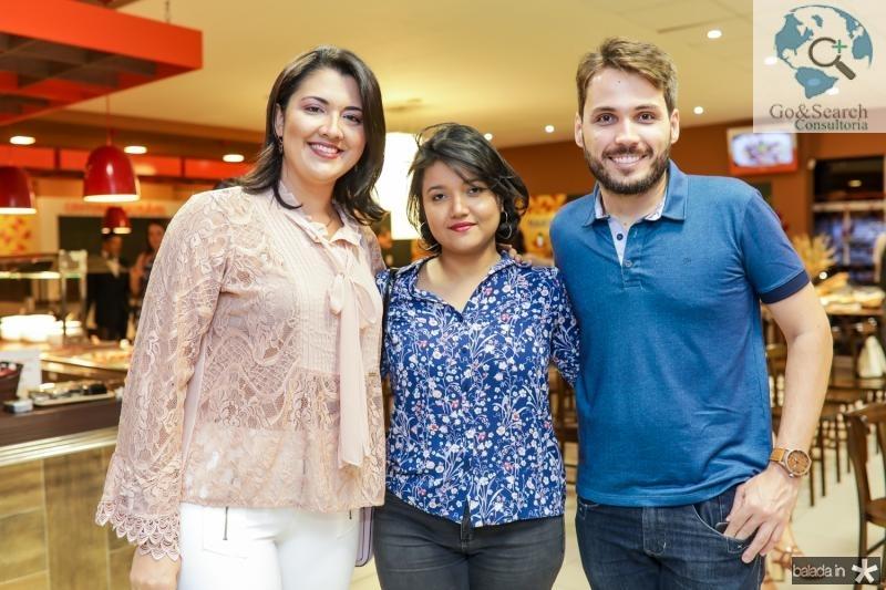 Catharina Queiroz, Maiane Almeida e Jackson de Moura