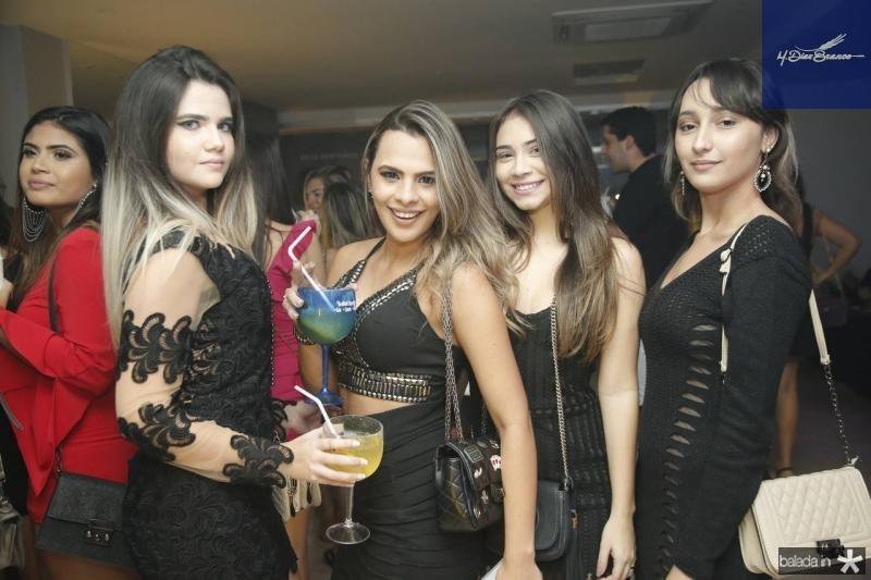 Tatiana Palhares, Dayane Abreu, Tainara Regis e Debora Mirtes