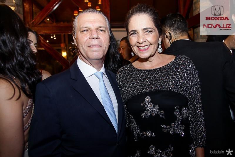 Claudio e Giana Studart