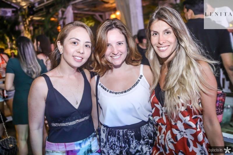Camila Oliveira, Camila Ribeiro e Cecilia Valente