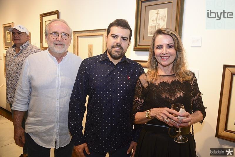 Claudio Viriato, Eduardo Oliveira, Valeria Andrade