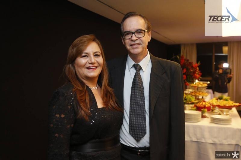 Fatima Cavalcante e Paulo Almeida