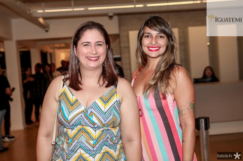 Juliana Bomfim e Lara Veras