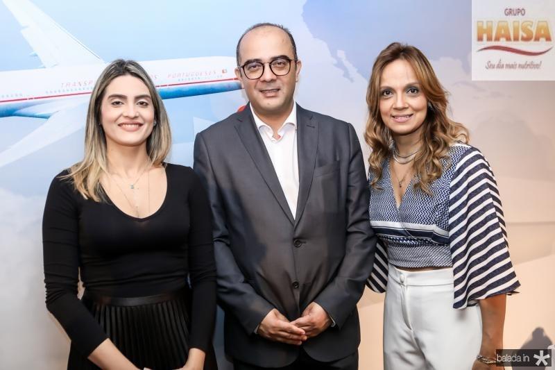 Denise Carra, Adriano Araujo e Cristina Tavares