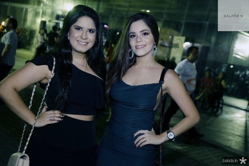 Sarah Callou e Fernanda Azevedo