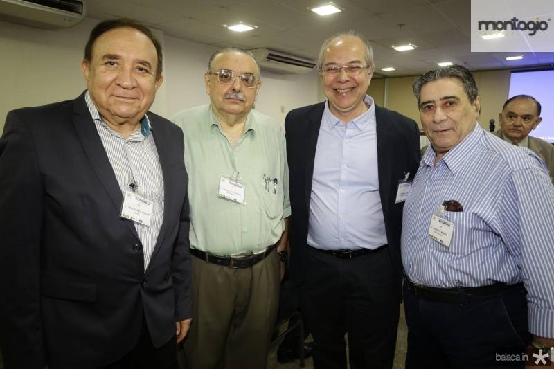 Valdeney Rolim, Sergio Gomes, Roberio Leite e Roberto Misici