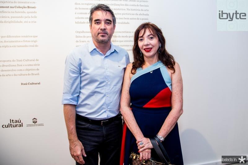 José Maria gondim e Gina Pompeu