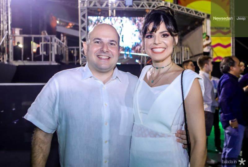 Roberto e Carol Bezerra