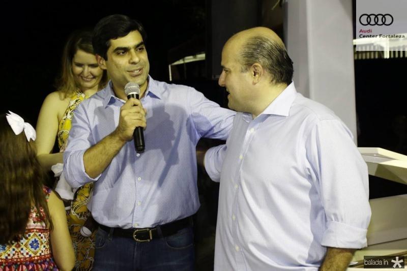 Queiroz Filho e Roberto Claudio