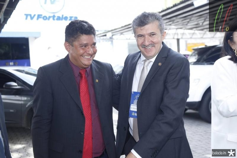 Jonny Monteiro e Antonio Henrique