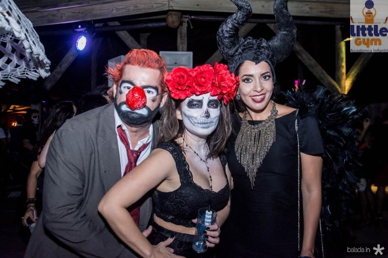 Cassio Goncalves, Katiucia Ribeiro e Lilia Oliveira