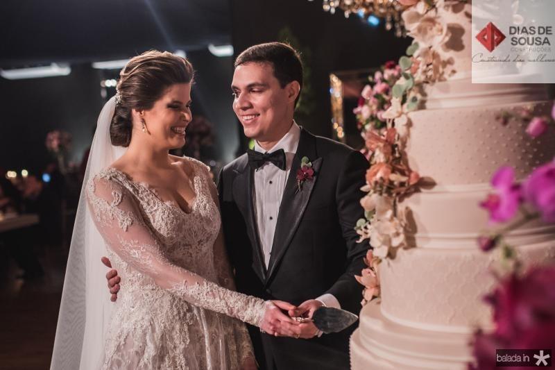 Ana Maria Bezerra e Paulo Victor Eufrasio (