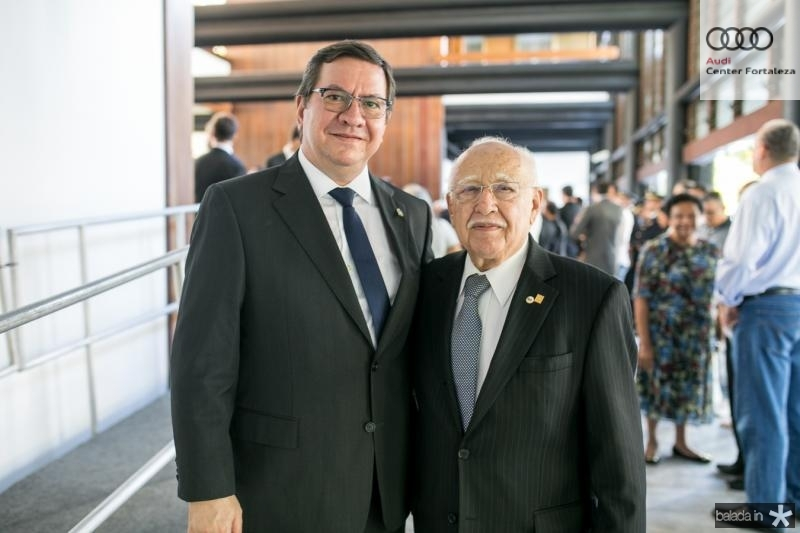 Lucio Ferreira Gomes e Ubiratan Aguiar