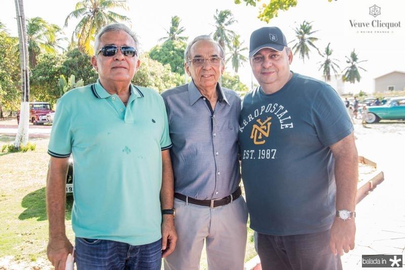 Edson Guimaraes, Glaydson Lucena e Jeser Neto