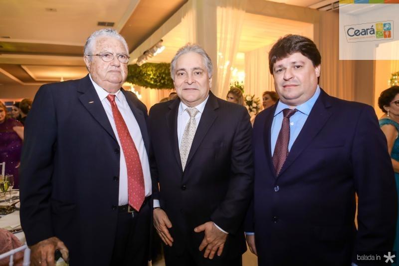 Gilson Pessoa, Luis Pontes e George Lima