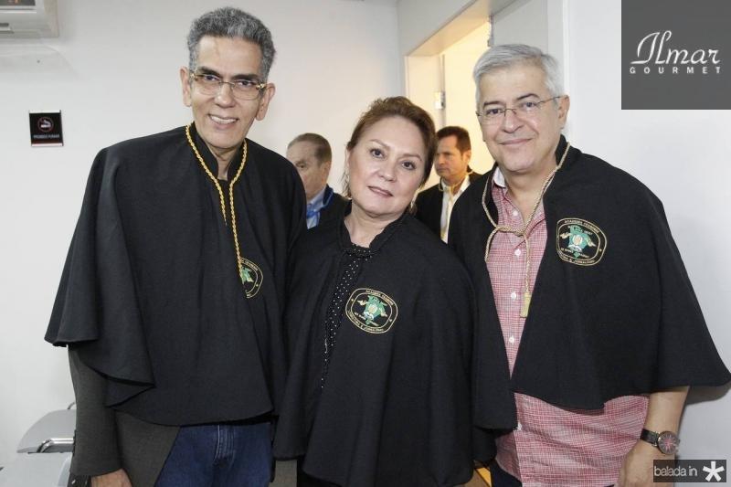 Savio Queiroz, Paula Frota e PC Noroes