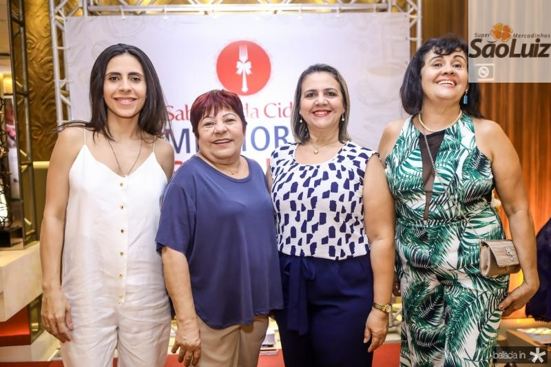 Paula Neves, Zena Lopes, Celina Ribeiro e Inacia Marisete