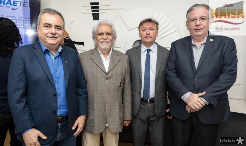 Assis Cavalcante, Joaquim Cartaxo, Mauricio Filizola e Ricardo Cavalcante
