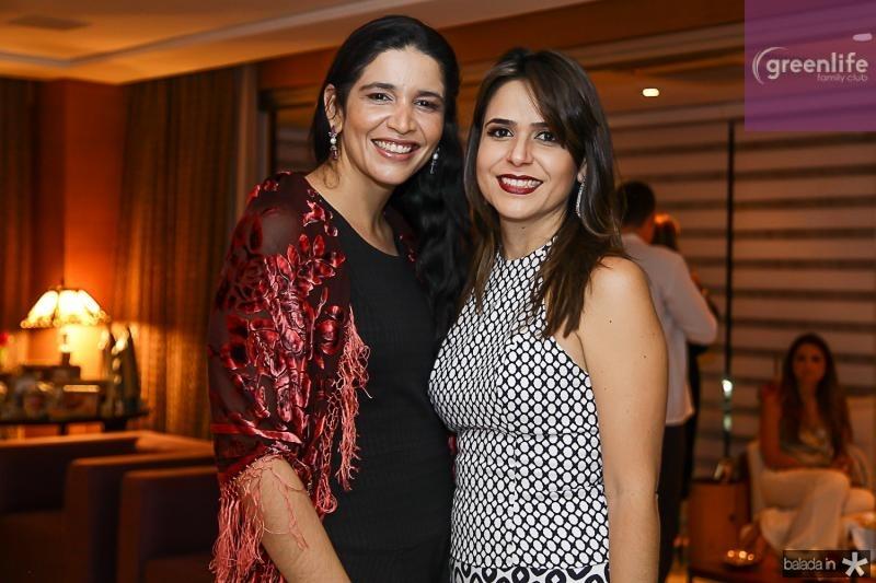 Manuela Ferreira e Camila Benevides