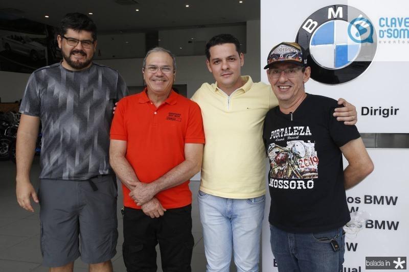 Afonso Torres, Girao Neto, Saulo Parente e Gerardo Aguiar