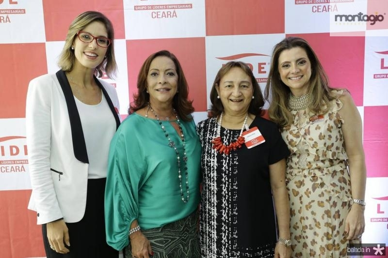Marilia Fiuza, Sandra Costa, Graca Dias e Emilia Buarque