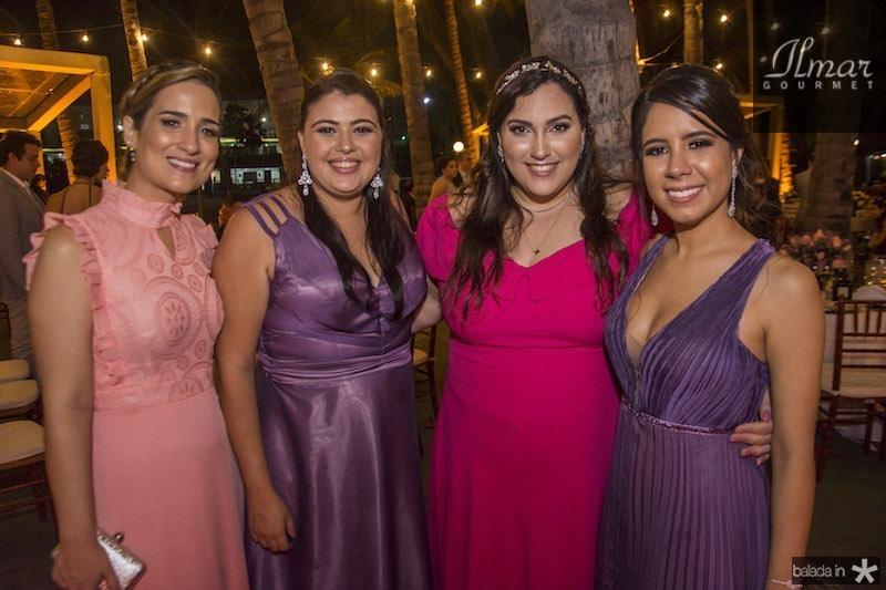 Larissa Montezuma, Cecilia Maia e Larissa Pacheco