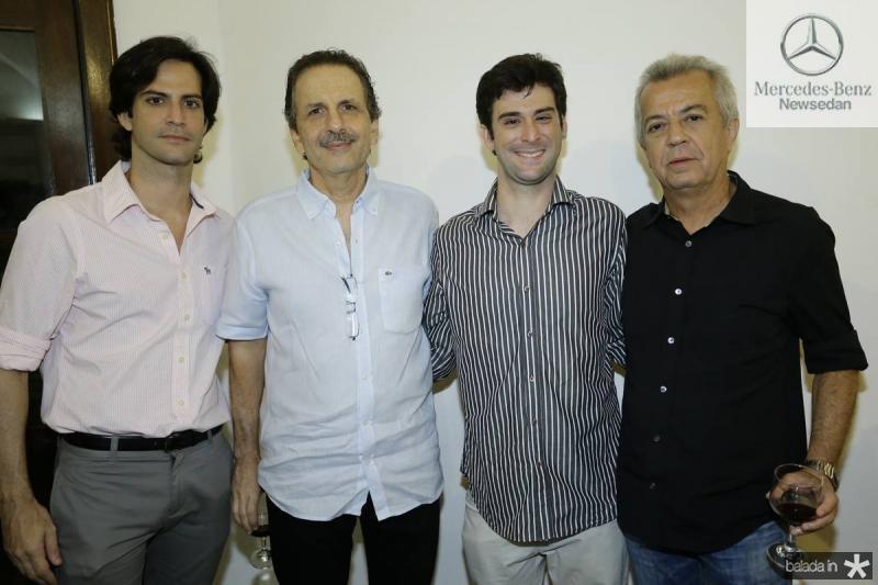 Paulo Mota, Pedro Ary, Lucas Mota e Clovis Rolim