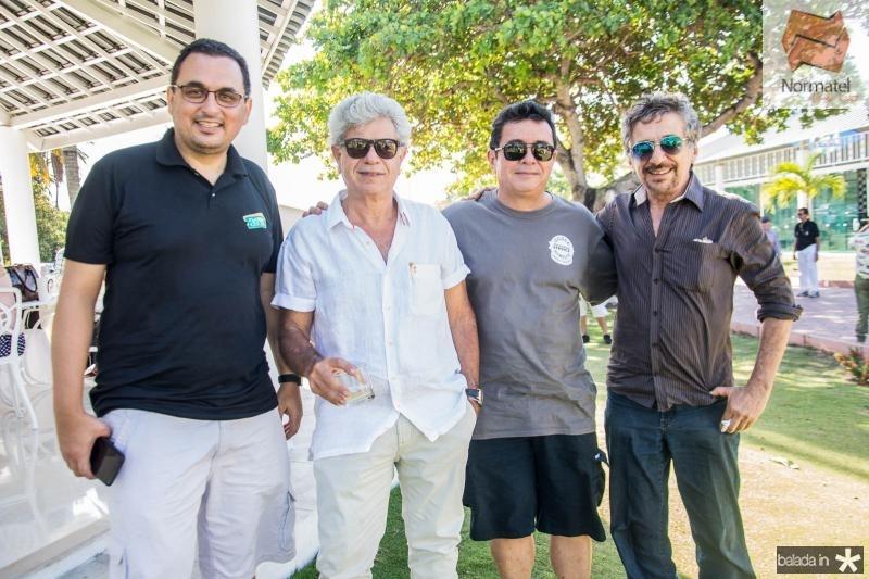 Herly Rodrigues Junior, Alexandre Romcy, Silvio Camelo e Wilton Moreira