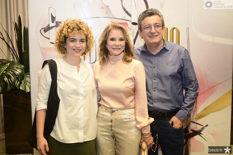 Julia Curan, Sofia Linhares, Jorge Lotif