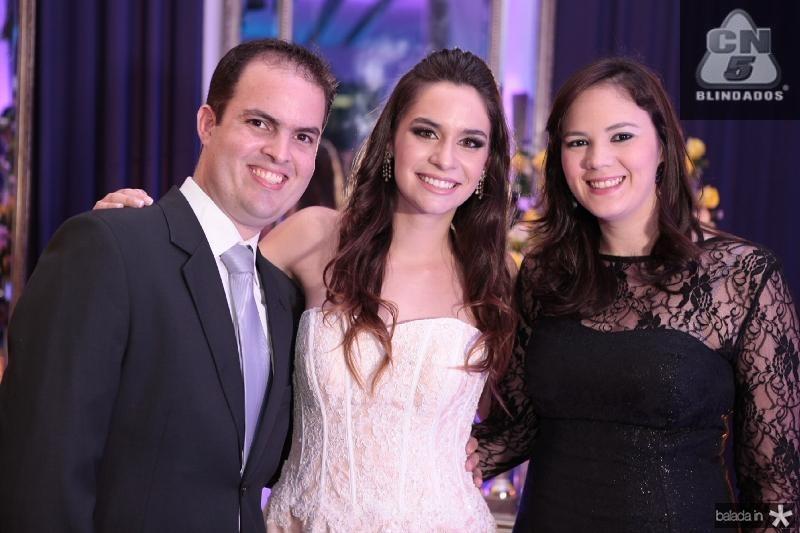 Rafael Dantas,Carol Albuquerque e Jamile Dantas