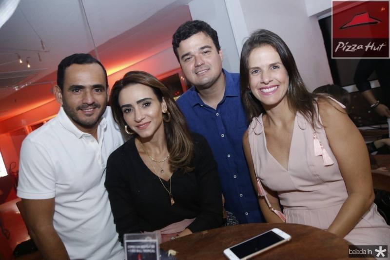 Fernando e Camila Quindere, Nelson e Izabela Valenca