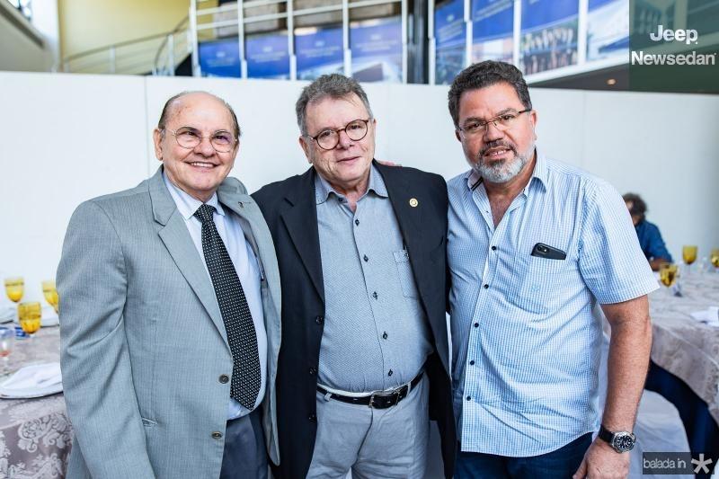 Jose Boris, Juarez Leitao e Valdemir Sousa