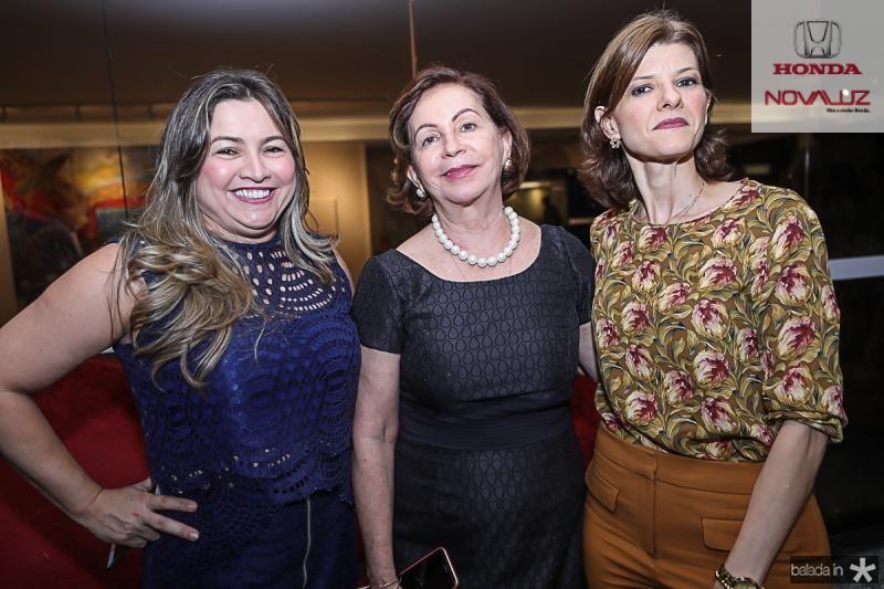 Ana Quezado, Fatima Veras e Cristina Praca
