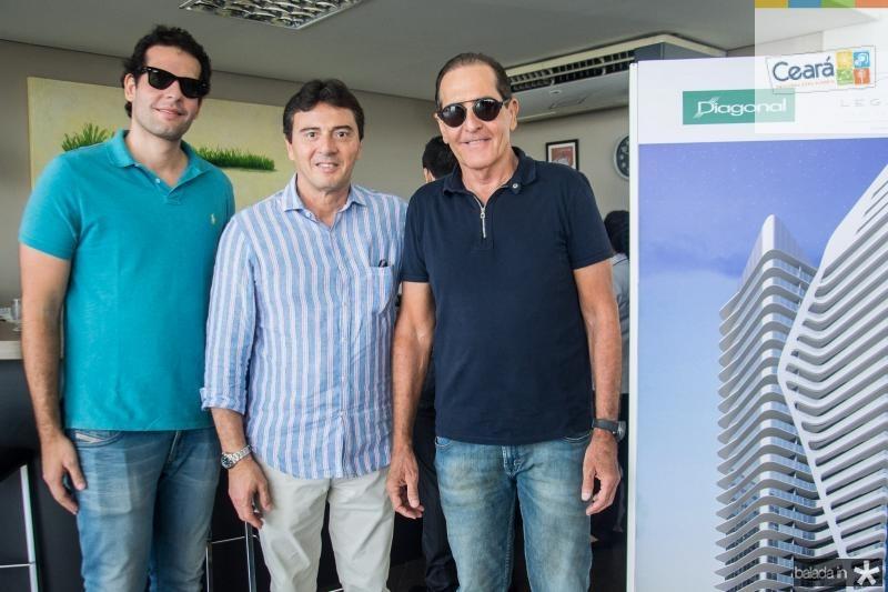 Joao Fiuza, Luiz Teixeira e Joao Fiuza