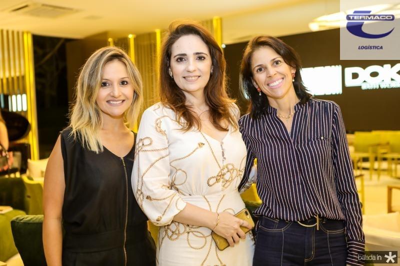 Clarianny Aguiar, Isabela Fontenele e Cibele Parreiras