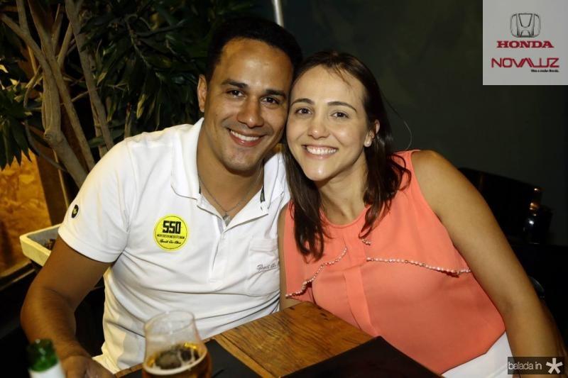 Cleiton Silva e Renata Freitas