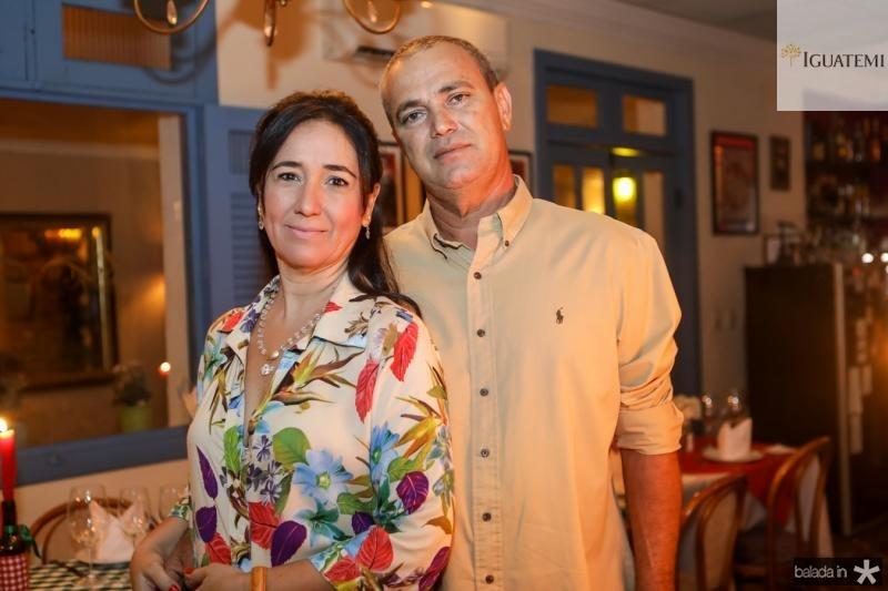 Sandra Ferreira e Joao Santana