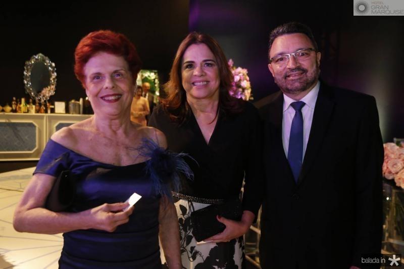 Angela Barros de Oliveira, Divane Pontes e Joao Tagira