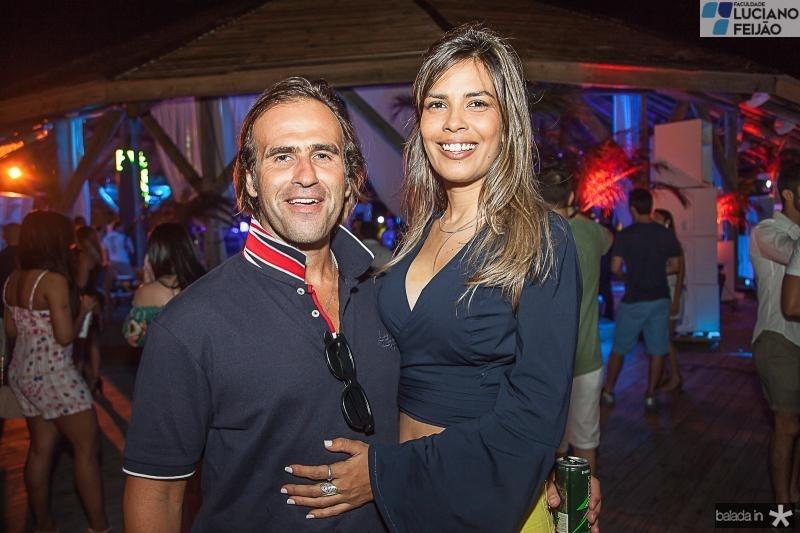 Bruno Castilio e Gabriela Barros
